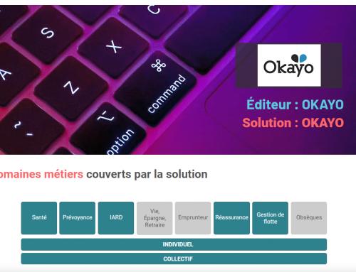 Okayo dans le Panorama des logiciels d'Assurance
